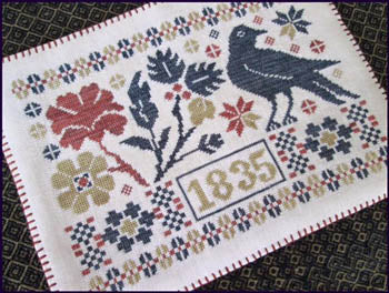 Coverlet Candle Mat ~ The Scarlett House