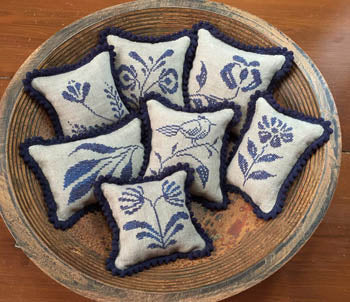 Stoneware Pinpillows III ~ Priscilla's Pocket