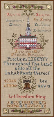 Let Freedom Ring ~  Cross-Point Designs