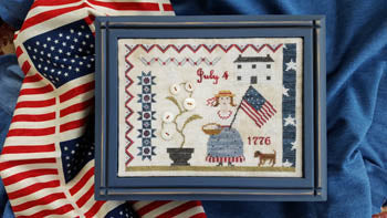 Fourth Of July Picnic ~ Samplers Not Forgotten