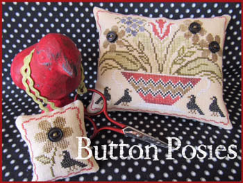 Button Posies ~ The Scarlett House
