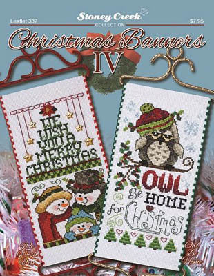 Christmas Banners IV ~ Stoney Creek Collection