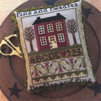Pins And Needles ~ Annie Beez Folk Art
