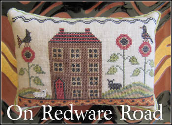 On Redware Road ~ The Scarlett House