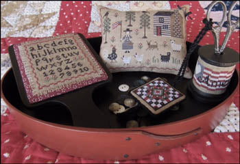 American Homestead Sewing Set ~ The Scarlett House