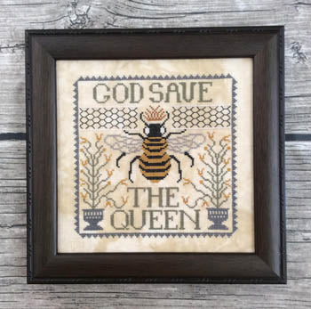 God Save The Queen ~ Annie Beez Folk Art