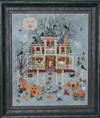 Mummy's Moonlight Cafe ~ Praiseworthy Stitches