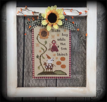 Make Hay While The Sun Shines ~ Annie Beez Folk Art