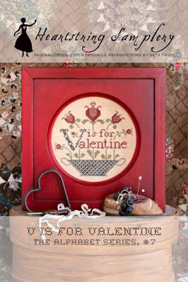 V Is For Valentine ~ Heartstring Samplery