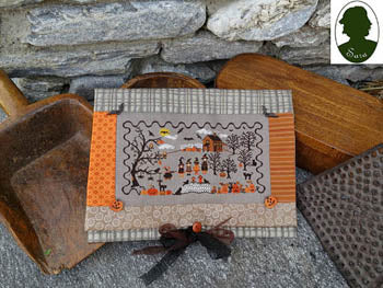 Pochette Halloween (includes 4buttons) ~ Sara