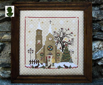Christmas Avenue - Church (includes 2 buttons) ~ Sara