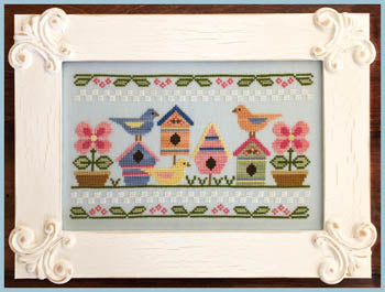 Spring Birds ~ Country Cottage Needleworks