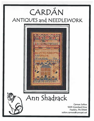 Ann Shadrack ~ Cardan Antiques & Needlework