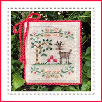 Welcome To The Forest 2 - Forest Deer ~ Country Cottage Needleworks