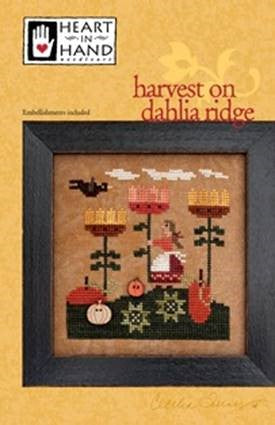Harvest On Dahlia Ridge ~ Heart In Hand