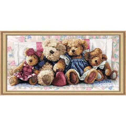 A Row of Love ~ Dimensions Counted Cross-Stitch Kit