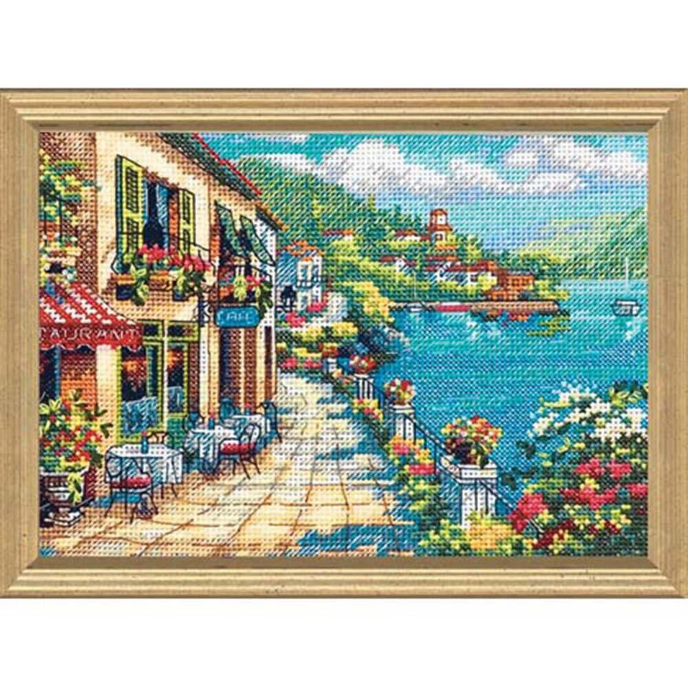Overlook Café ~ Dimensions Counted Cross-Stitch Kit