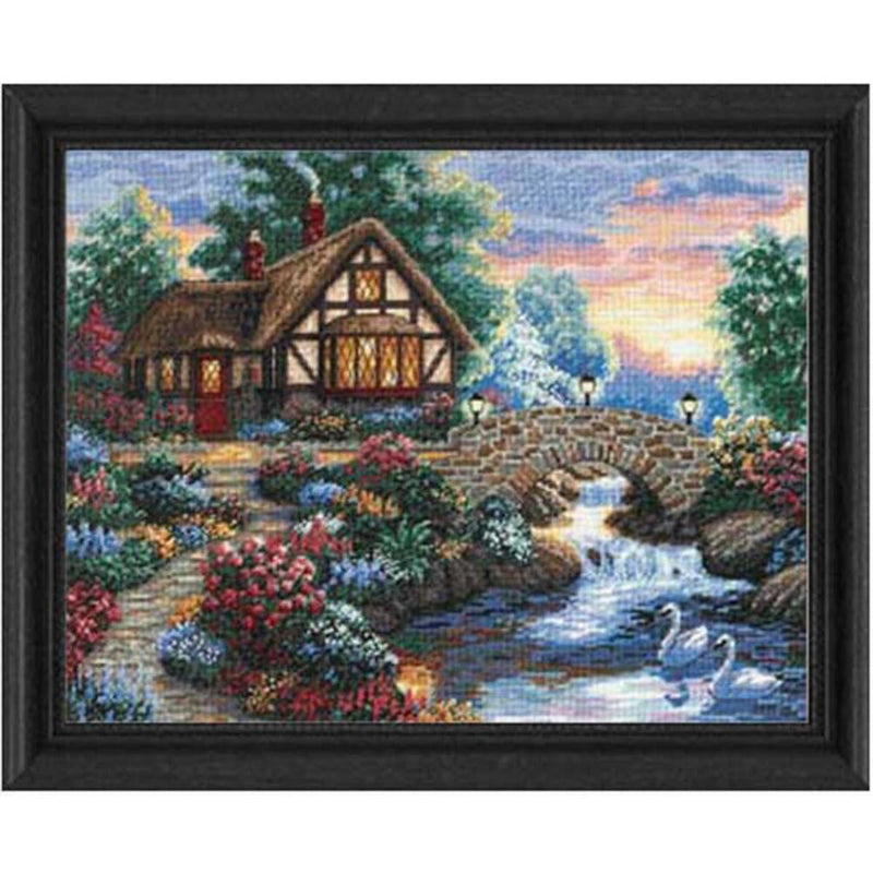 Twilight Bridge ~ Dimensions Counted Cross-Stitch Kit