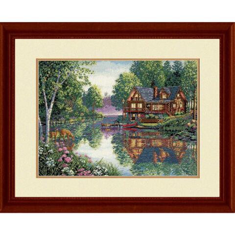 Cabin Fever ~ Dimensions Counted Cross-Stitch Kit