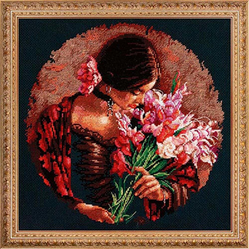 Summer Fragrance ~ Dimensions Counted Cross-Stitch Kit
