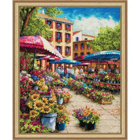 Provence Market ~ Dimensions Counted Cross-Stitch Kit