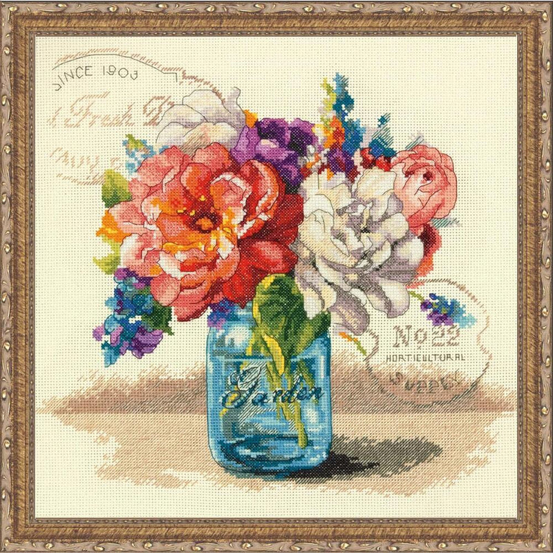 Garden Bouquet ~ Dimensions Counted Cross-Stitch Kit