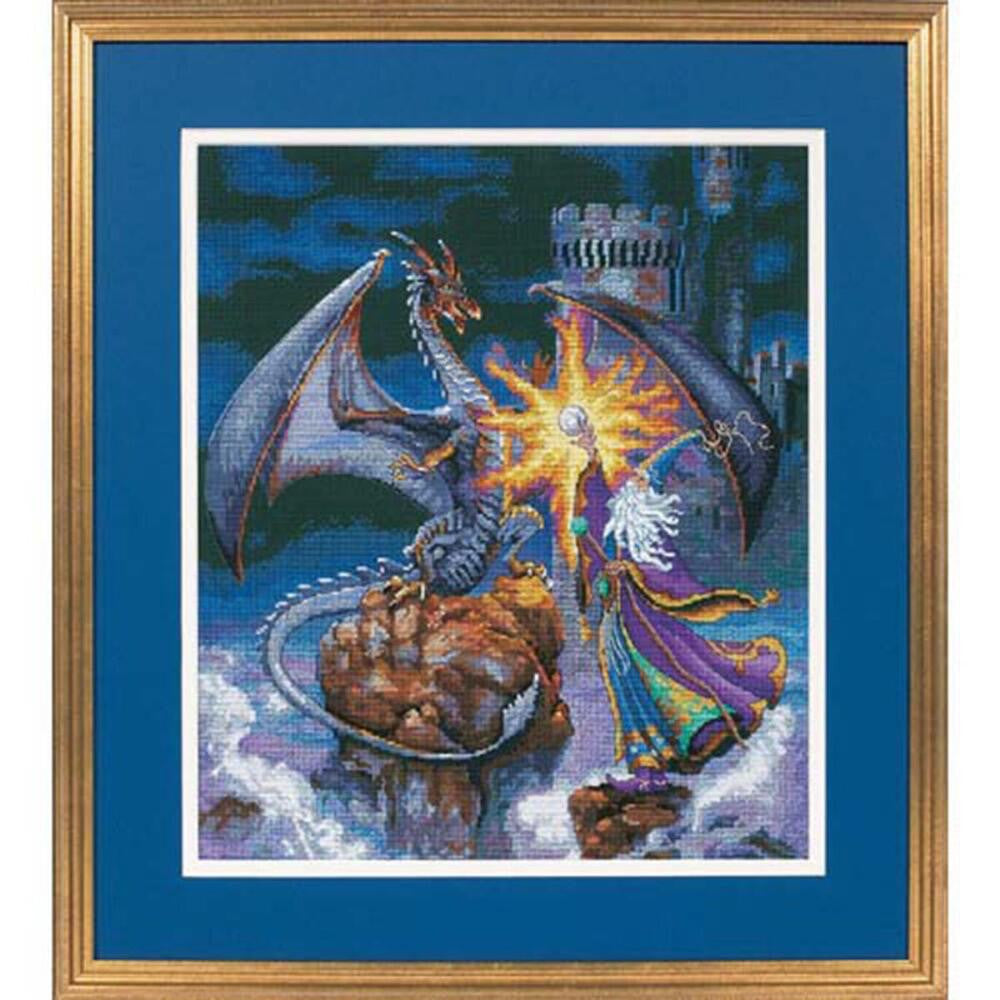 Magnificent Wizard ~ Dimensions Counted Cross-Stitch Kit