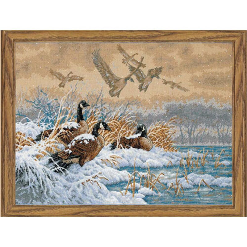 Winter Retreat ~ Dimensions Counted Cross-Stitch Kit