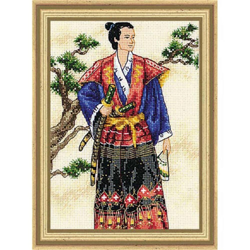 Samurai ~ Dimensions Counted Cross-Stitch Kit
