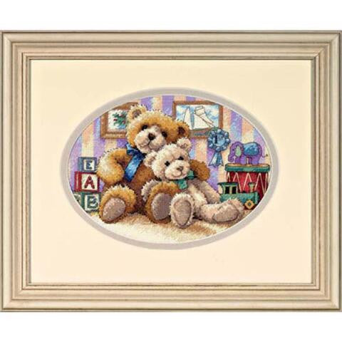 Warm & Fuzzy ~ Dimensions Counted Cross-Stitch Kit