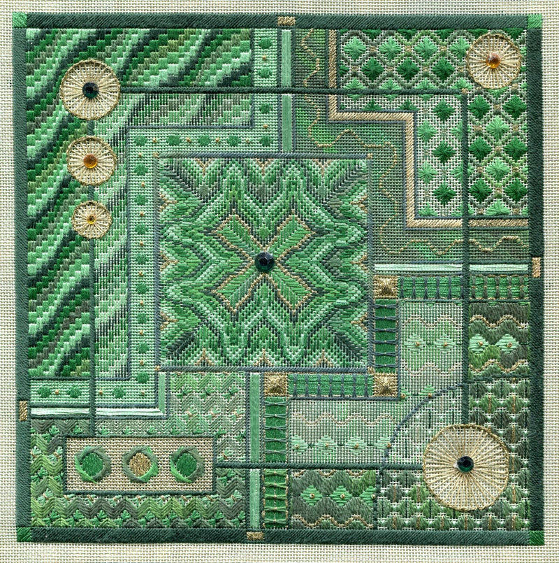 Malachite Maze ~ Laura J. Perin Designs