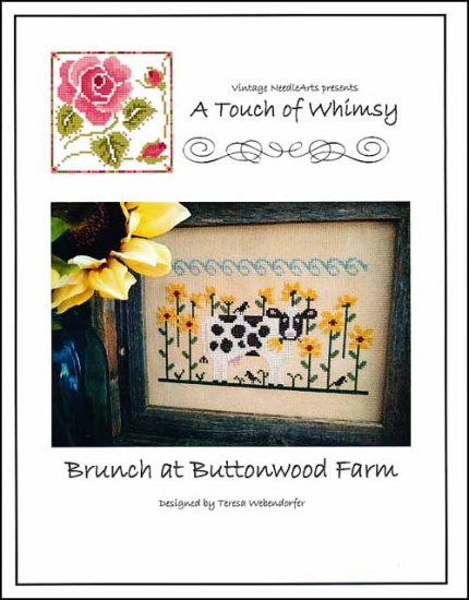 Brunch At Buttonwood Farm ~ Vintage NeedleArts