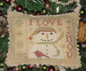 I Love Snow ~ Homespun Elegance Ltd