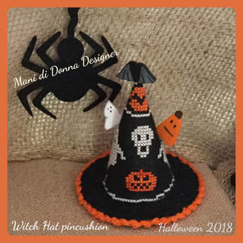 Witch Hat Pincushion ~ Mani Di Donna