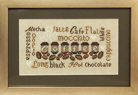 Coffee Flavours ~ Stitch N Needs