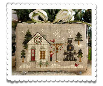 Hometown Holiday-Main Street Station ~ Little House Needleworks (M)