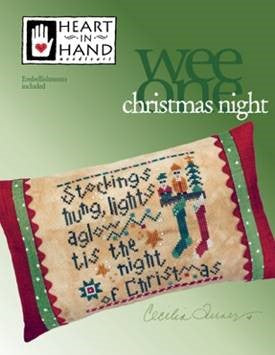Christmas Night (w/emb) ~ Heart In Hand