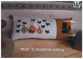 10 Blackbirds Waiting ~ Thistles