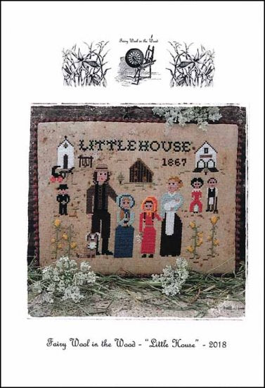 Little House ~ Fairy Wool in the Wood
