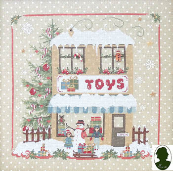 Christmas Avenue - Toys Shop (includes 2 buttons) ~ Sara