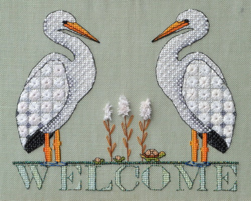Stork Welcome ~ MarNic Designs