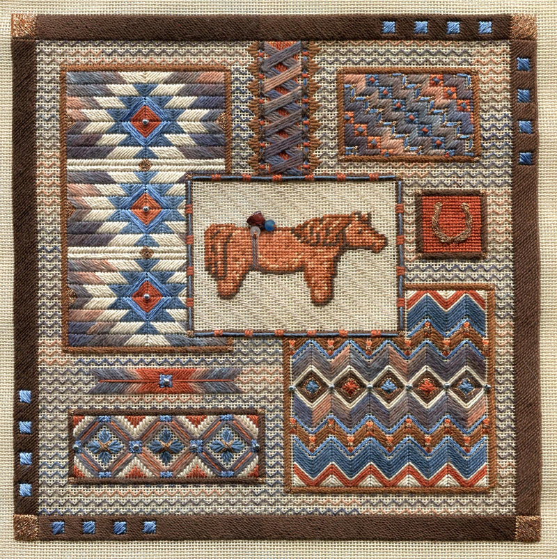 Long Horse Collage ~ Laura J. Perin Designs