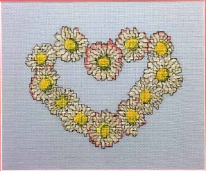 Daisy's Heart ~ Tatyana's Patterns