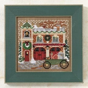 Firehouse (2009) - Christmas Village Series - Mill Hill Kit MH14-9305 (M)