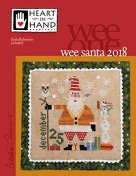 Wee One - Santa 2018 ~ Heart In Hand