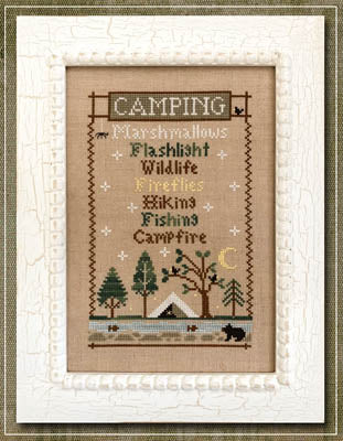 Camping Trip ~ Country Cottage Needleworks
