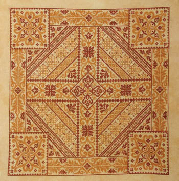 Shades Of Orange ~ Northern Expressions Needlework