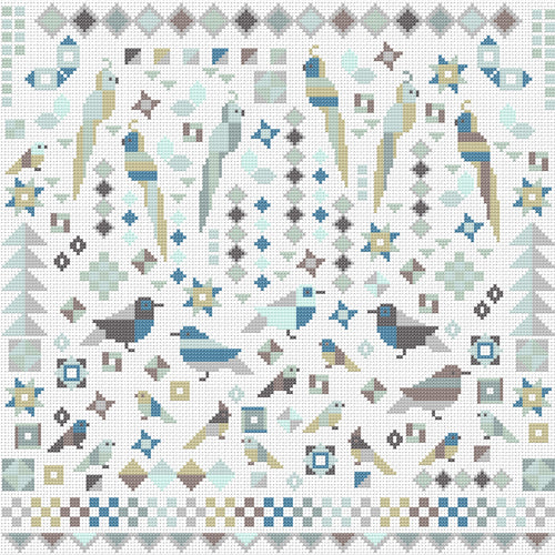 Birds Patchwork Style ~ Riverdrift House