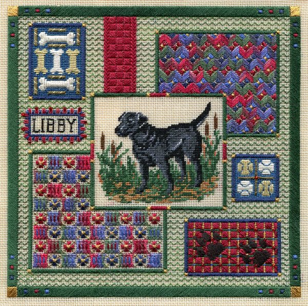 Labrador Collage ~ Laura J. Perin Designs