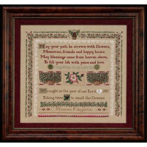 English Elegance Sampler  ~  Kit #35 ~  The Hearts's Content, Inc